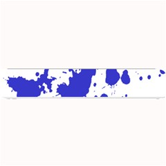 Blue Plaint Splatter Small Bar Mats by Mariart