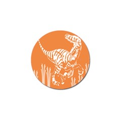 Animals Dinosaur Ancient Times Golf Ball Marker (4 Pack) by Mariart