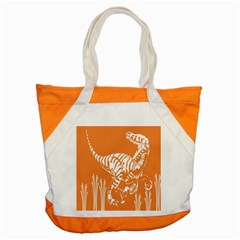 Animals Dinosaur Ancient Times Accent Tote Bag by Mariart