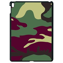 Camuflage Flag Green Purple Grey Apple Ipad Pro 9 7   Black Seamless Case by Mariart