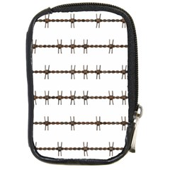Barbed Wire Brown Compact Camera Cases