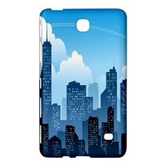 City Building Blue Sky Samsung Galaxy Tab 4 (8 ) Hardshell Case  by Mariart