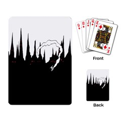 City History Speedrunning Playing Card by Mariart