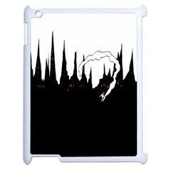 City History Speedrunning Apple Ipad 2 Case (white) by Mariart