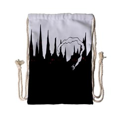 City History Speedrunning Drawstring Bag (small) by Mariart