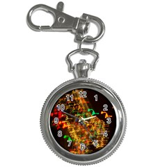 Christmas Tree Light Color Night Key Chain Watches by Mariart