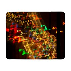 Christmas Tree Light Color Night Samsung Galaxy Tab Pro 8 4  Flip Case by Mariart