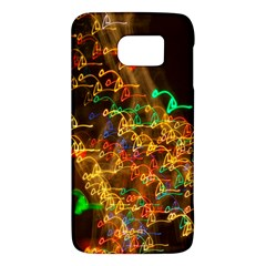 Christmas Tree Light Color Night Galaxy S6 by Mariart