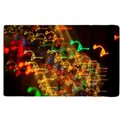 Christmas Tree Light Color Night Apple Ipad Pro 9 7   Flip Case