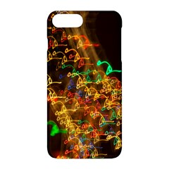 Christmas Tree Light Color Night Apple Iphone 8 Plus Hardshell Case by Mariart
