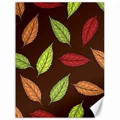 Autumn Leaves Pattern Canvas 18  X 24