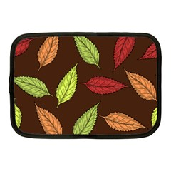 Autumn Leaves Pattern Netbook Case (medium)