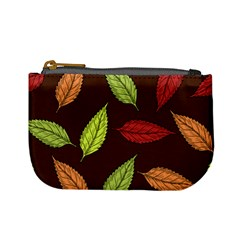Autumn Leaves Pattern Mini Coin Purses by Mariart