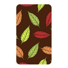 Autumn Leaves Pattern Memory Card Reader
