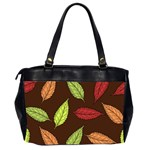 Autumn Leaves Pattern Office Handbags (2 Sides)  Back