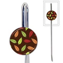 Autumn Leaves Pattern Book Mark
