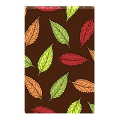 Autumn Leaves Pattern Shower Curtain 48  X 72  (small)  by Mariart