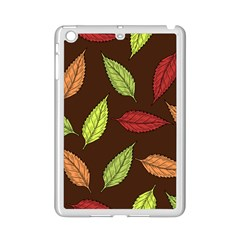 Autumn Leaves Pattern Ipad Mini 2 Enamel Coated Cases by Mariart