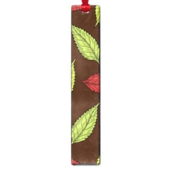 Autumn Leaves Pattern Large Book Marks by Mariart