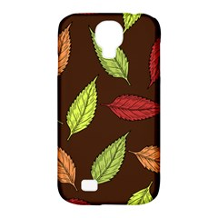 Autumn Leaves Pattern Samsung Galaxy S4 Classic Hardshell Case (pc+silicone)