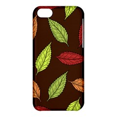 Autumn Leaves Pattern Apple Iphone 5c Hardshell Case by Mariart