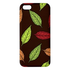 Autumn Leaves Pattern Iphone 5s/ Se Premium Hardshell Case