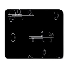 Feedback Loops Motion Graphics Piece Large Mousepads