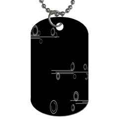 Feedback Loops Motion Graphics Piece Dog Tag (two Sides)