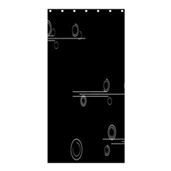 Feedback Loops Motion Graphics Piece Shower Curtain 36  X 72  (stall)  by Mariart