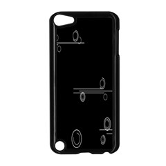 Feedback Loops Motion Graphics Piece Apple Ipod Touch 5 Case (black)