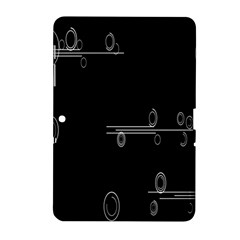 Feedback Loops Motion Graphics Piece Samsung Galaxy Tab 2 (10 1 ) P5100 Hardshell Case  by Mariart
