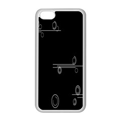 Feedback Loops Motion Graphics Piece Apple Iphone 5c Seamless Case (white)