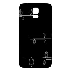 Feedback Loops Motion Graphics Piece Samsung Galaxy S5 Back Case (white)