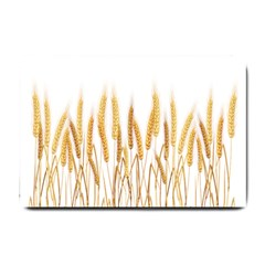 Wheat Plants Small Doormat  by Mariart