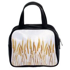 Wheat Plants Classic Handbags (2 Sides) by Mariart