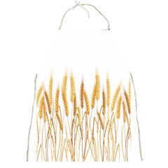 Wheat Plants Full Print Aprons