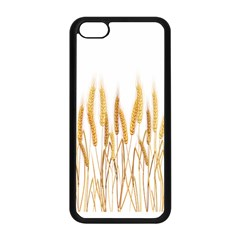 Wheat Plants Apple Iphone 5c Seamless Case (black) by Mariart