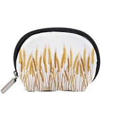 Wheat Plants Accessory Pouches (small)  by Mariart
