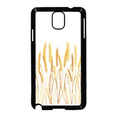 Wheat Plants Samsung Galaxy Note 3 Neo Hardshell Case (black) by Mariart