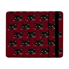 Face Cat Animals Red Samsung Galaxy Tab Pro 8 4  Flip Case by Mariart
