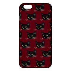 Face Cat Animals Red Iphone 6 Plus/6s Plus Tpu Case by Mariart