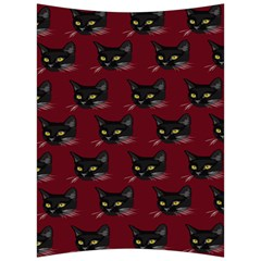 Face Cat Animals Red Back Support Cushion by Mariart