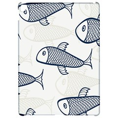 Fish Graphic Flooring Blue Seaworld Swim Water Apple Ipad Pro 12 9   Hardshell Case