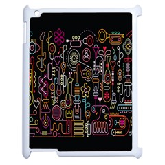 Features Illustration Apple Ipad 2 Case (white) by Mariart