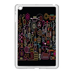 Features Illustration Apple Ipad Mini Case (white)