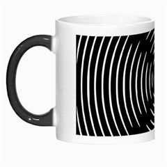 Gold Wave Seamless Pattern Black Hole Morph Mugs by Mariart