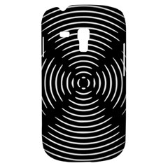 Gold Wave Seamless Pattern Black Hole Galaxy S3 Mini by Mariart