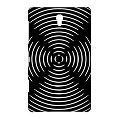 Gold Wave Seamless Pattern Black Hole Samsung Galaxy Tab S (8 4 ) Hardshell Case  by Mariart
