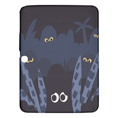 Ghost Halloween Eye Night Sinister Samsung Galaxy Tab 3 (10 1 ) P5200 Hardshell Case  by Mariart