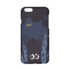 Ghost Halloween Eye Night Sinister Apple Iphone 6/6s Hardshell Case by Mariart